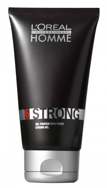 Loreal Homme Strong Styling Gel 150ml