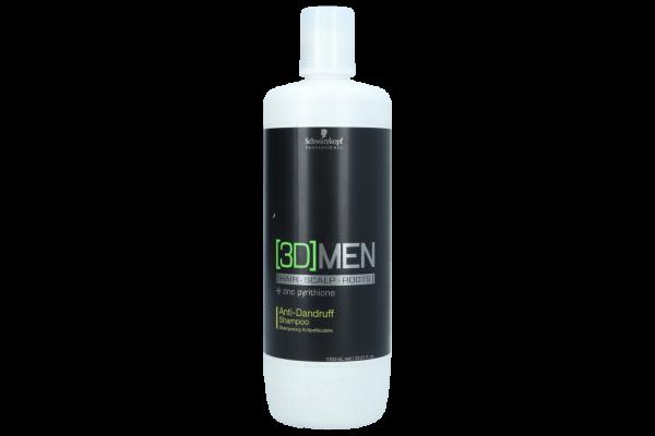 3D Men Anti-Dandruff Shampoo 1L