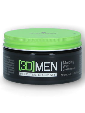 3D Men Medium Hold Wax 100ml