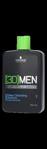 3D Men Deep Cleansing Shampoo 250ml